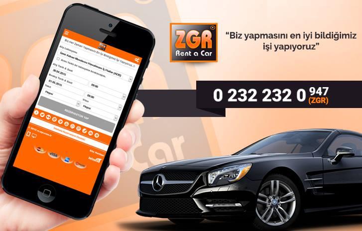 İzmir'de araba kiralamak isteyenleri zgr.com.tr adresine bekliyoruz
